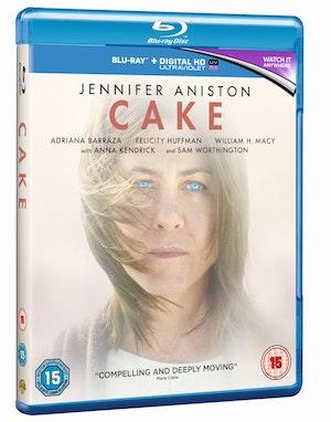 Cake blu ray packshot