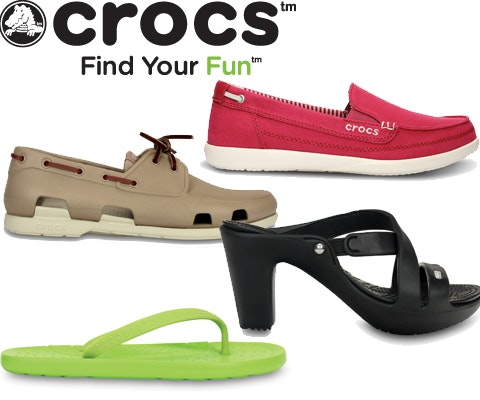 Crocs video giveaway