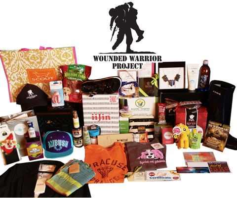 Wounded Warrior Project Style & Beauty Suite Gift Bag sweepstakes