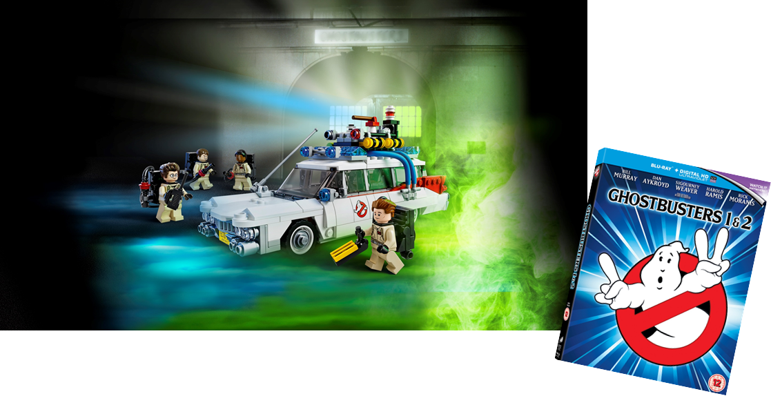 Ghostbusters and lego