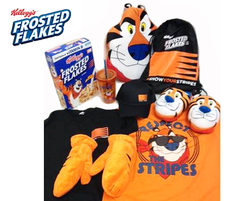 Frosted flakes giveaway
