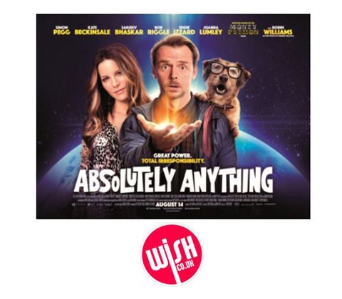 Absolutely Anything Wish.co.uk voucher sweepstakes