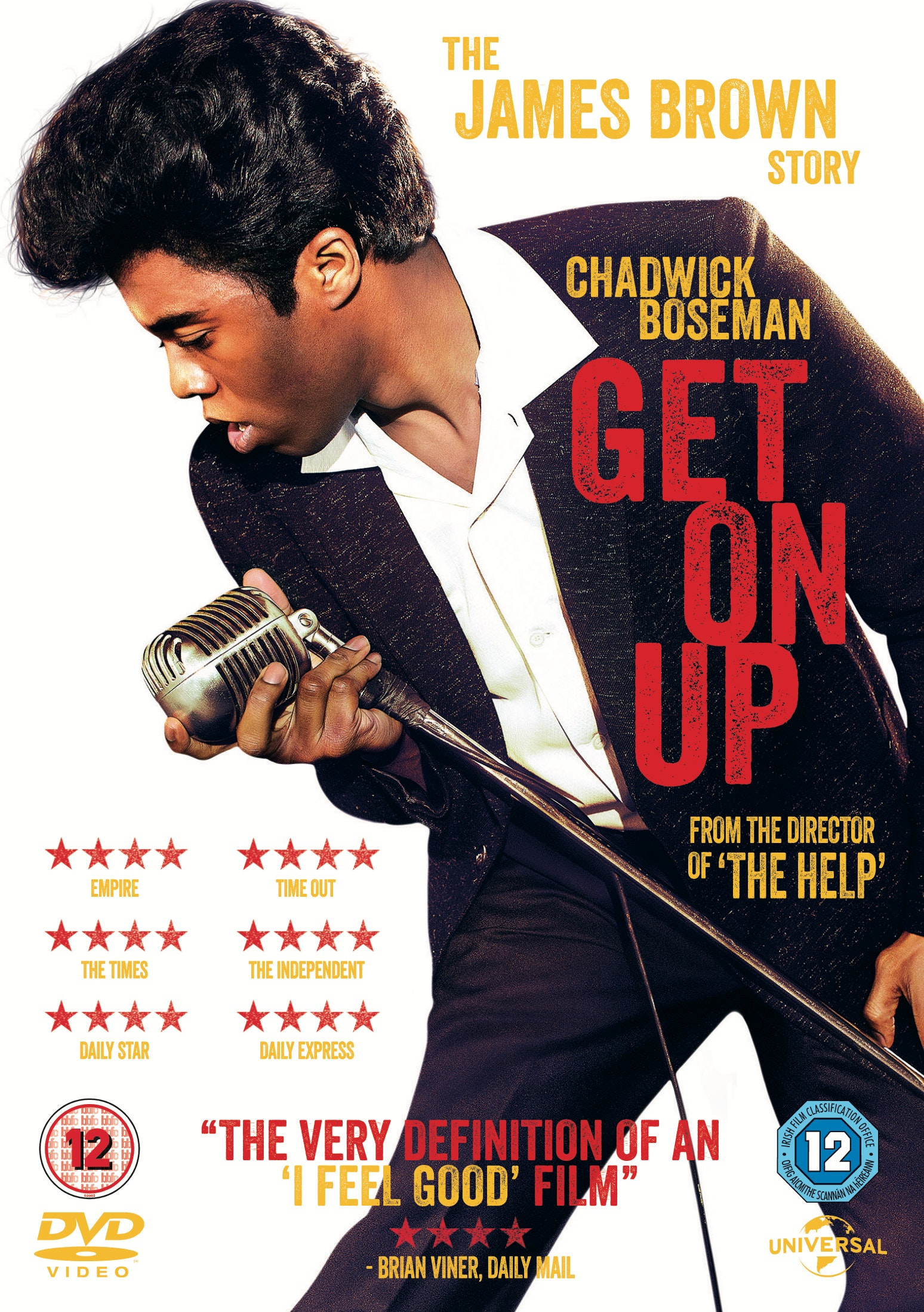 Get on up uk dvd retail sleeve 2d