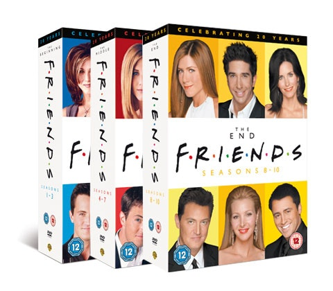 Friends DVD ox set sweepstakes