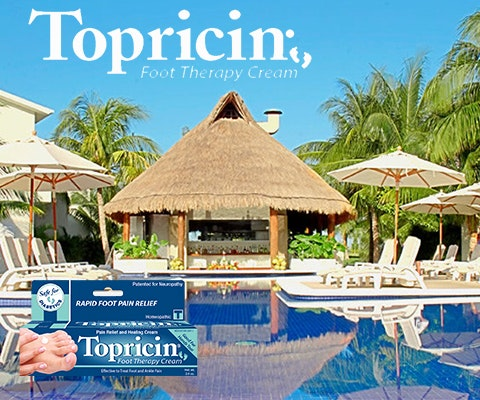 Topricin giveaway sm