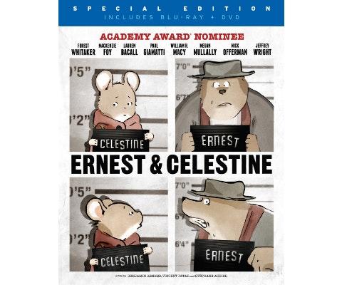 Ernest celestine giveaway