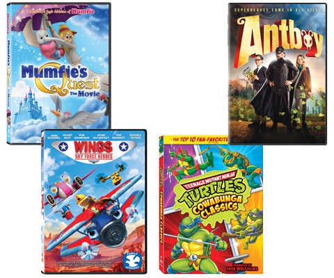 Kids movie prize july aug
