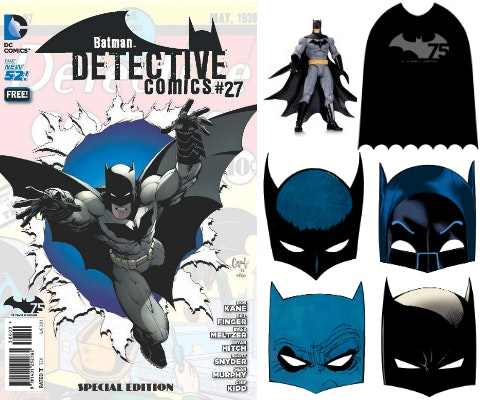 Batman day prize package
