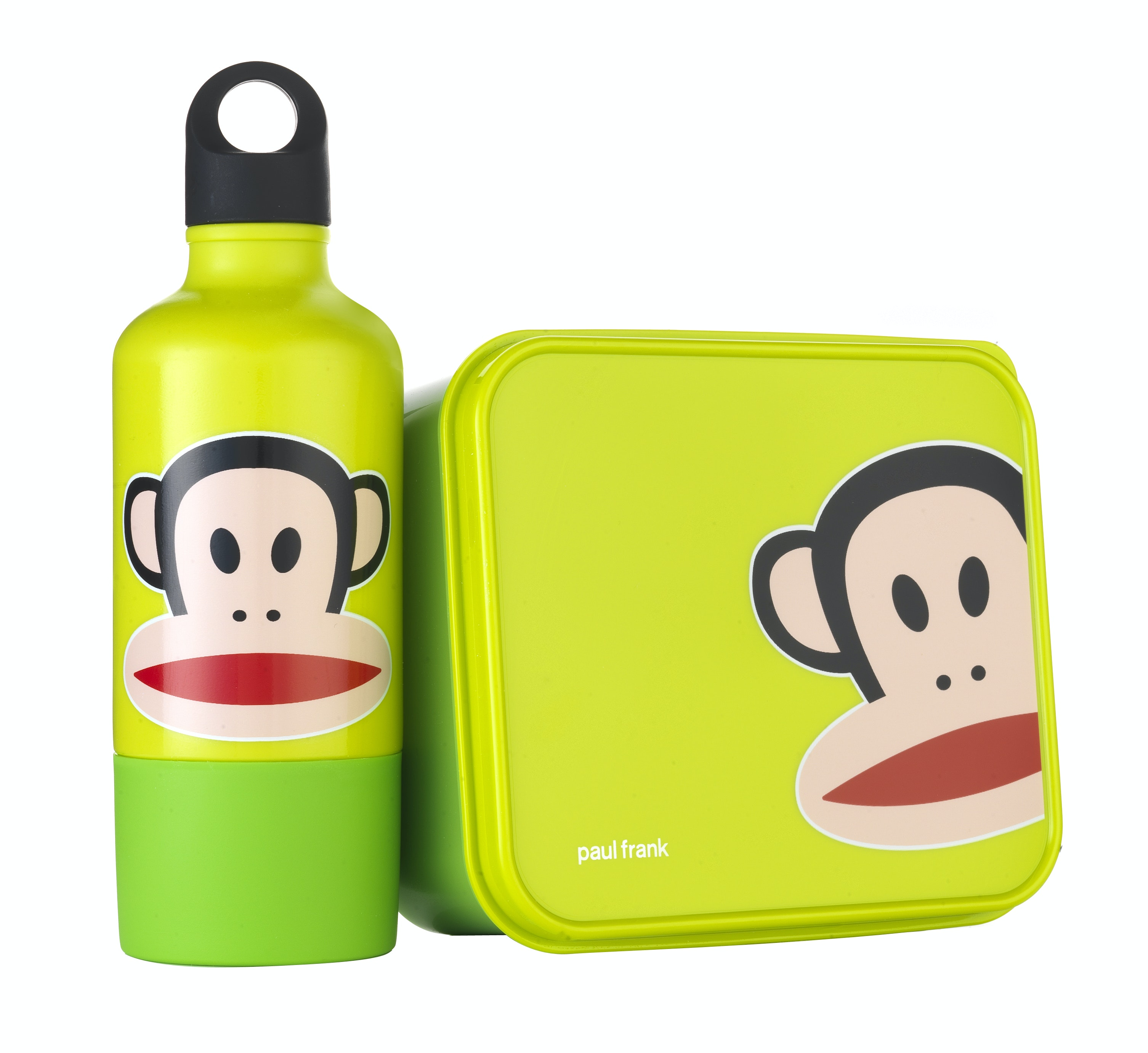 Paulfrank lunchbox and bottle set limegreen debenhams 14 99