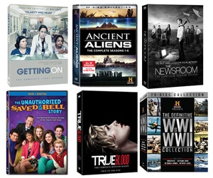 Tv on dvd giveaway