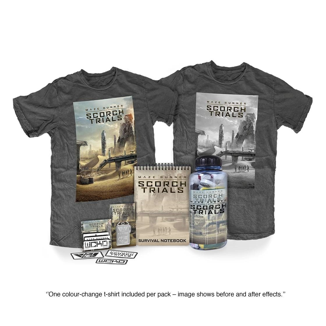 Win merchandise from Maze Runner: The Scorch Trials sweepstakes