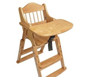 Safetots folding wooden high chair natural wood xl 1 edited jpg