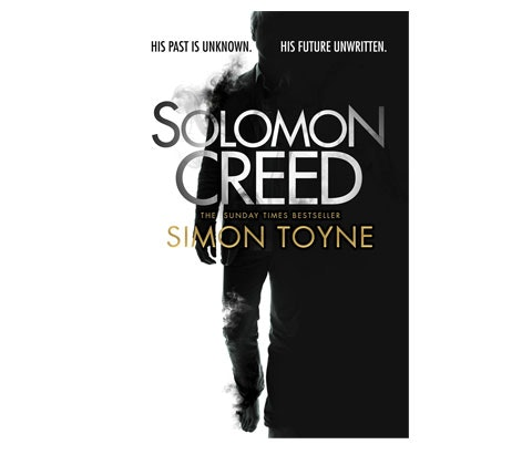 Solomon Creed by Simon Toyne sweepstakes