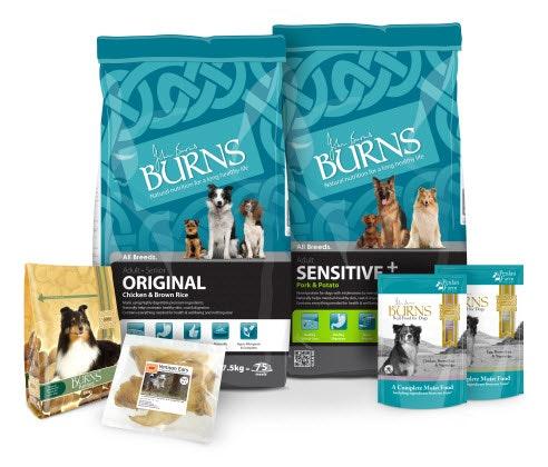 Burns Pet Food sweepstakes