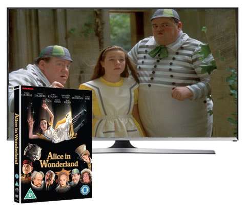 Win a 32-inch Samsung Smart TV & Alice In Wonderland DVD  sweepstakes