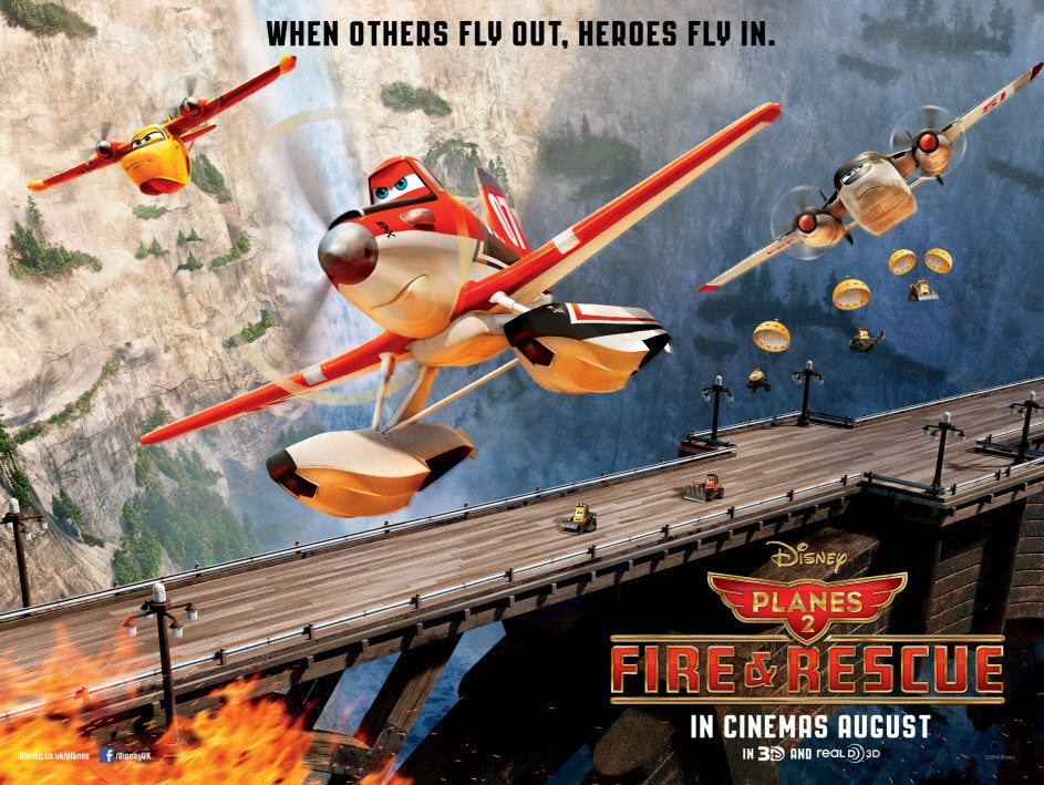 Planes 2 main poster