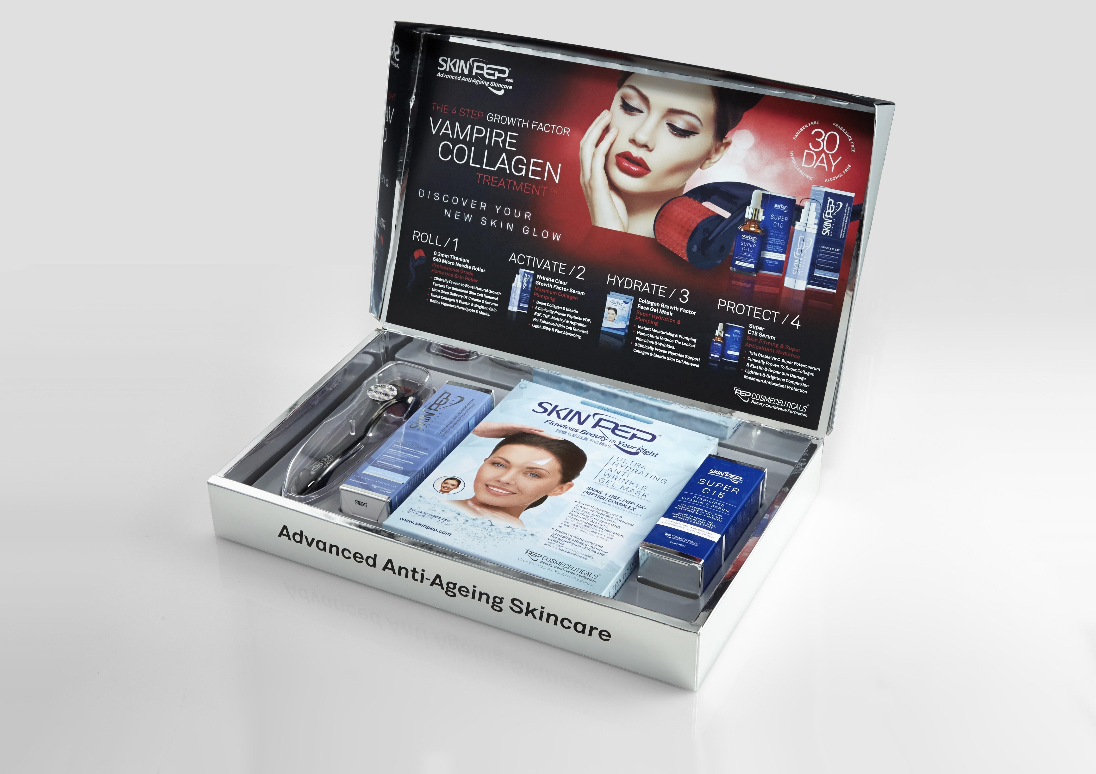 Vampire collagen box set open