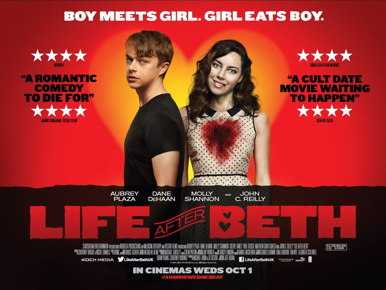 Life after beth quad poster copy