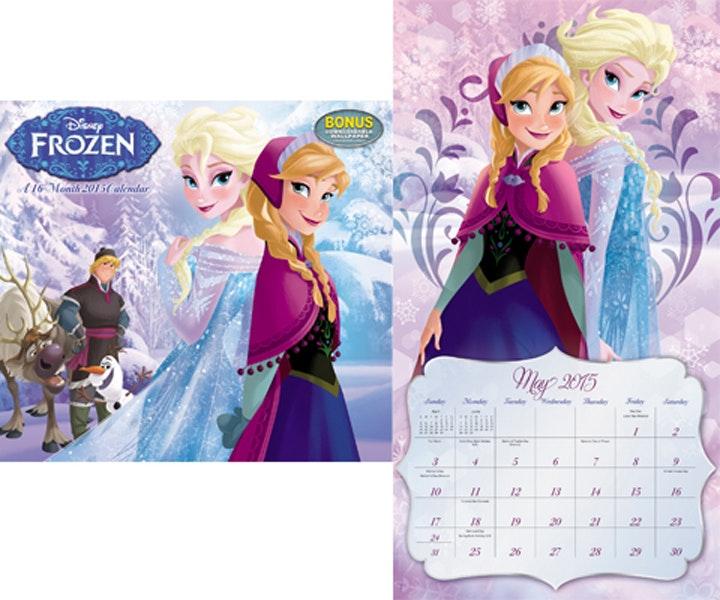 Frozen calendar giveaway gw