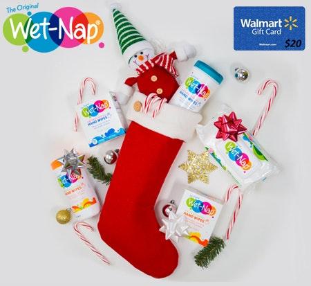Win wet nap giveaway sm