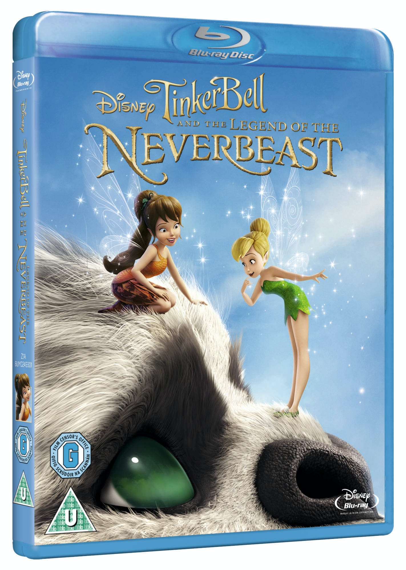 Tinker Bell and the Legend of the NeverBeast Blu-ray sweepstakes