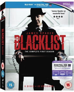Blacklist season 1 sbrp0154uv 3d o ring w uv sticker
