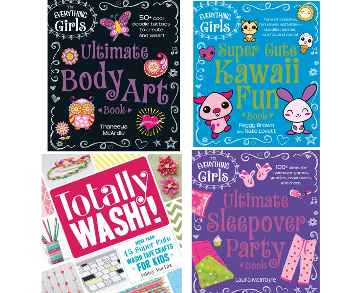 Everything girls adams books giveaway