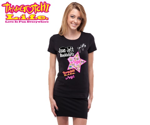 Tamagotchi L.i.f.e Angel T-shirt Signed by Joan Jett sweepstakes