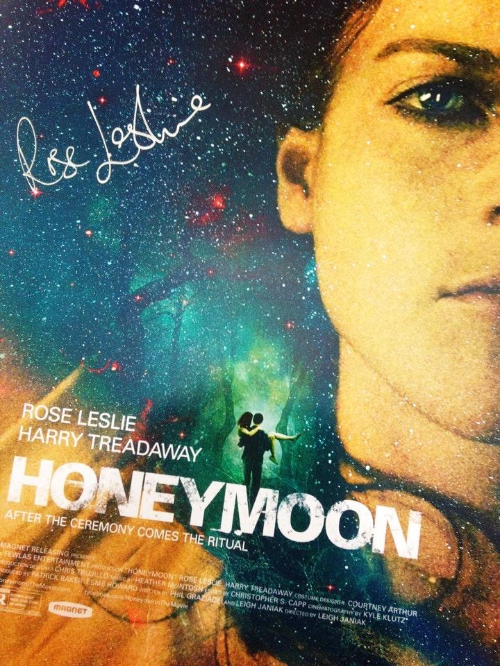 Honeymoon poster roseleslie