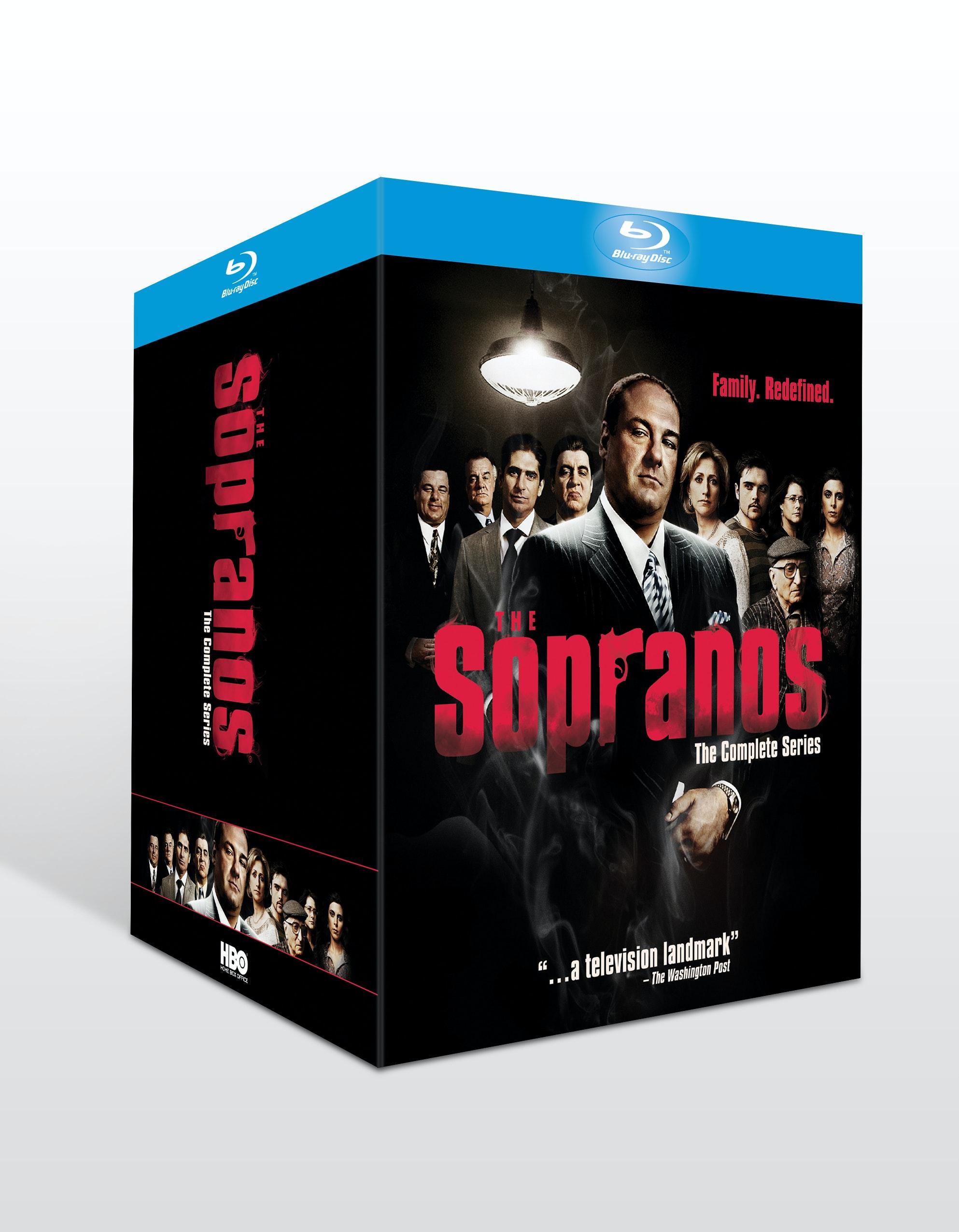 Sopranos cmplt series 3d sku