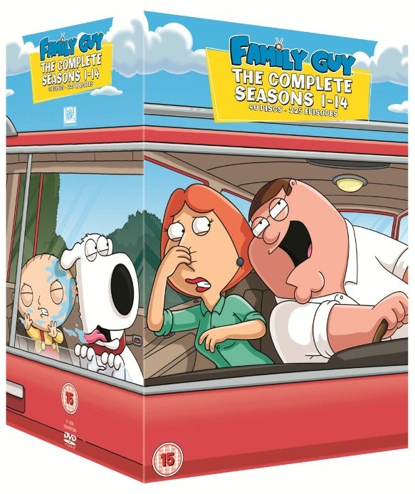 family guy sweepstakes