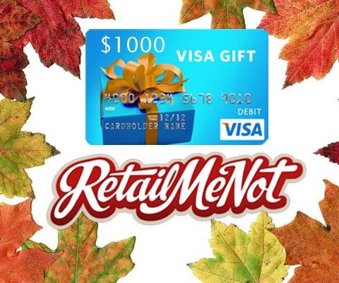 Retailmenot 1000 gc giveaway