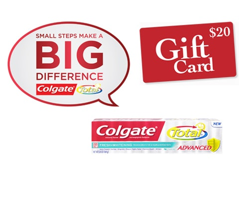 Colgate total giveaway november