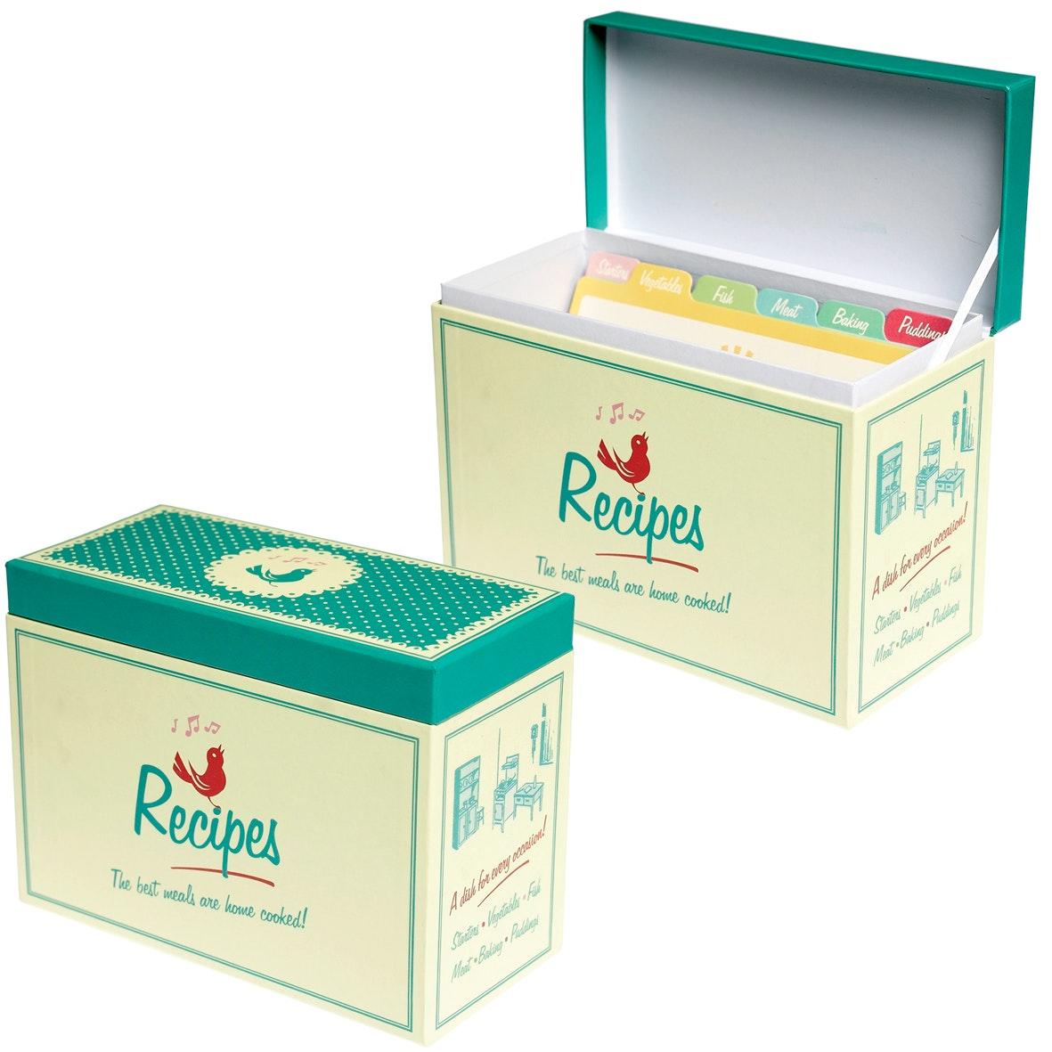 The handpicked collection recipe box u00a37