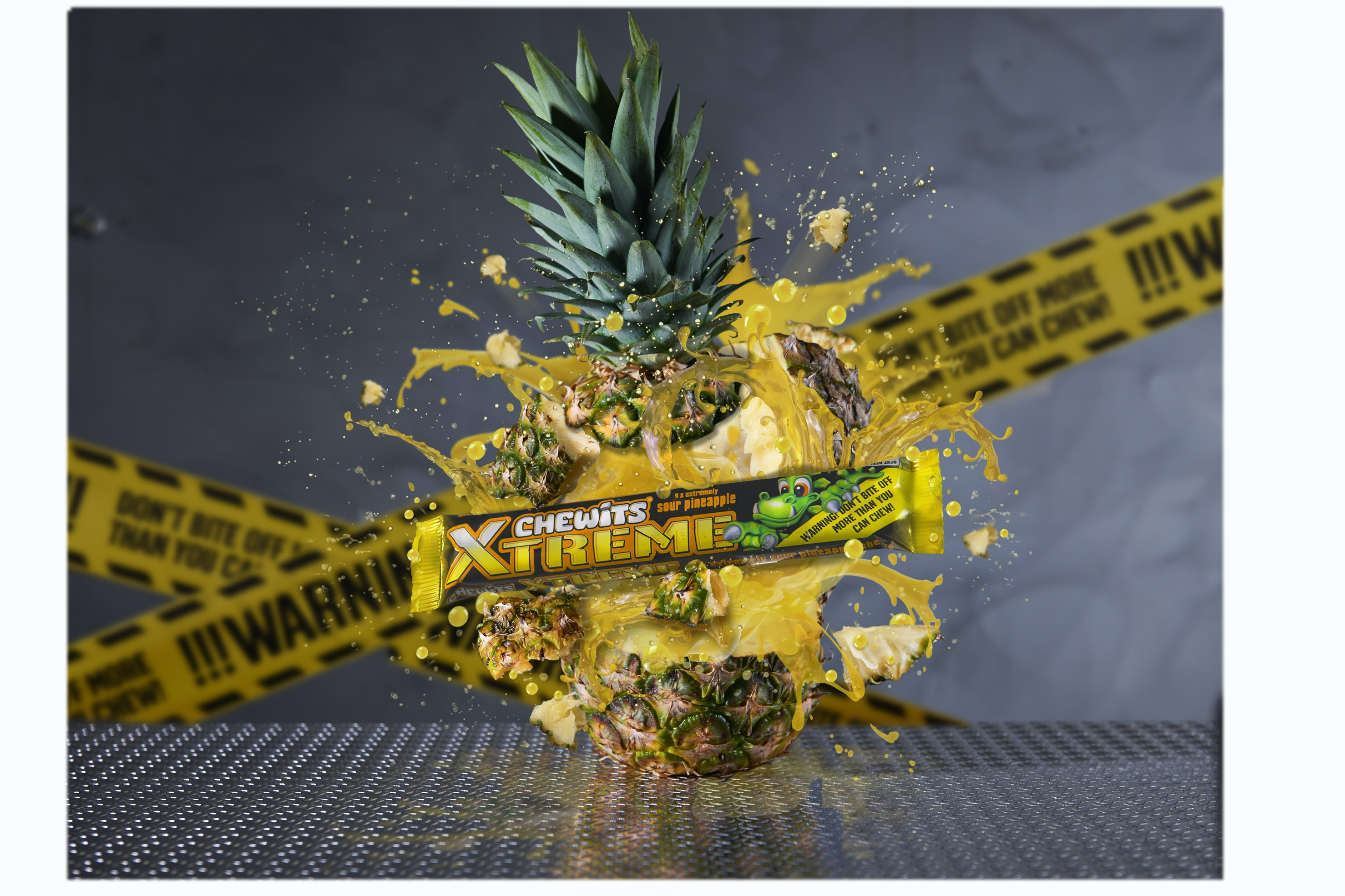 Chewits extreme exploding pineapple