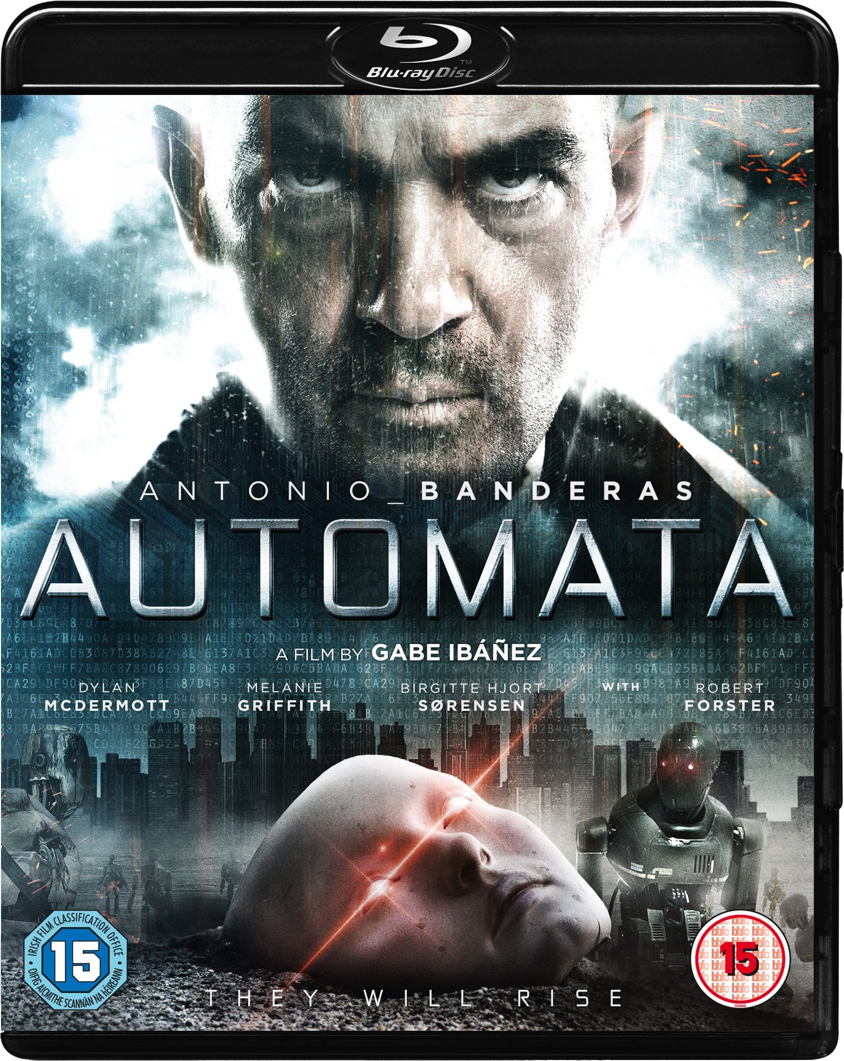 AUTOMATA on Blu-ray PLUS a Blu-ray player sweepstakes
