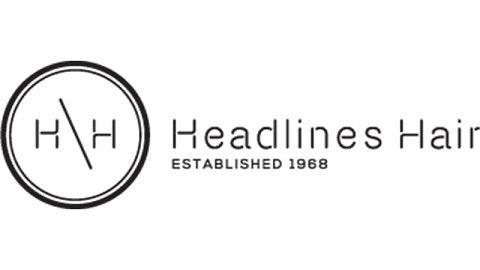 Headlines hair logo grazia