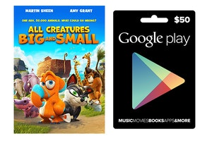 Google play and dvd small