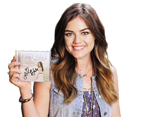 Lucy hale cd giveaway