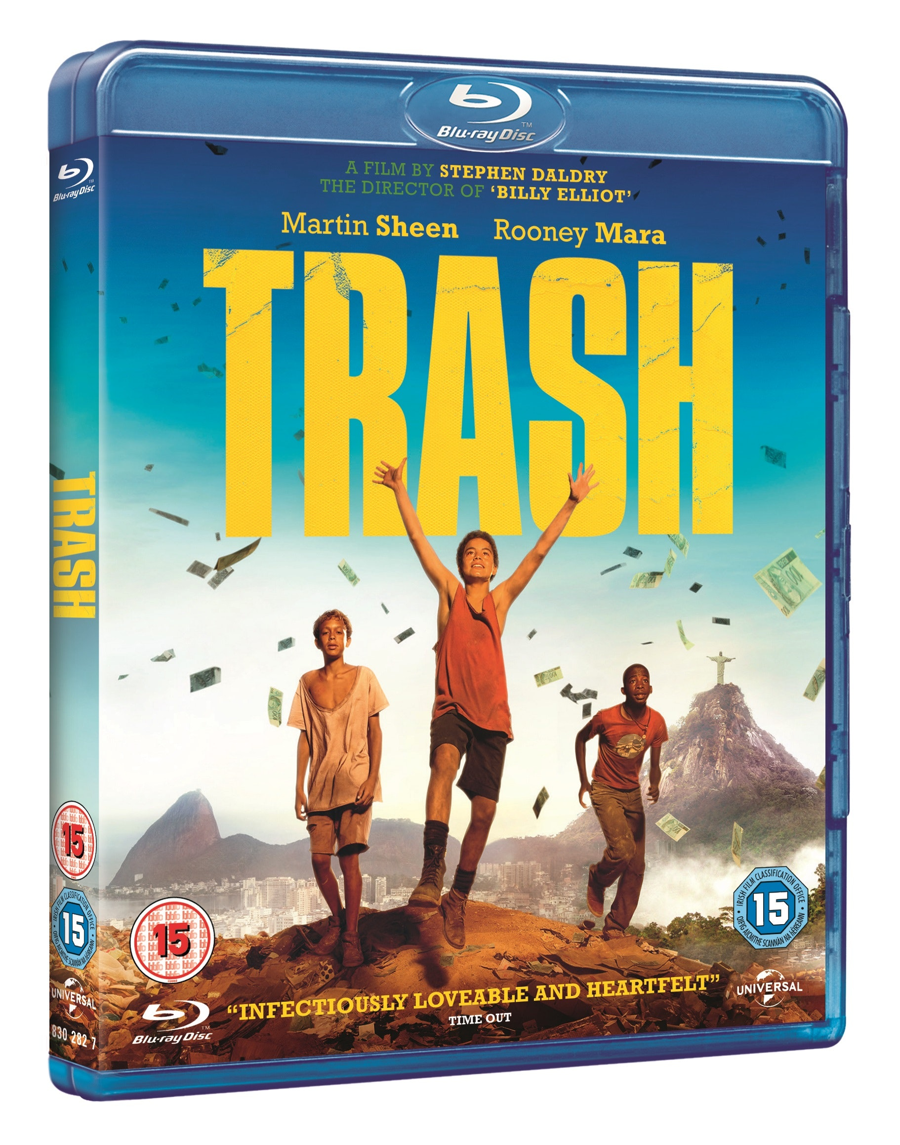 Trash Blu-ray sweepstakes