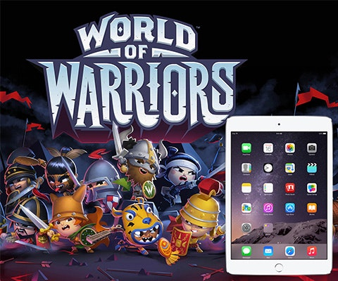 Win world warriors ipad sm