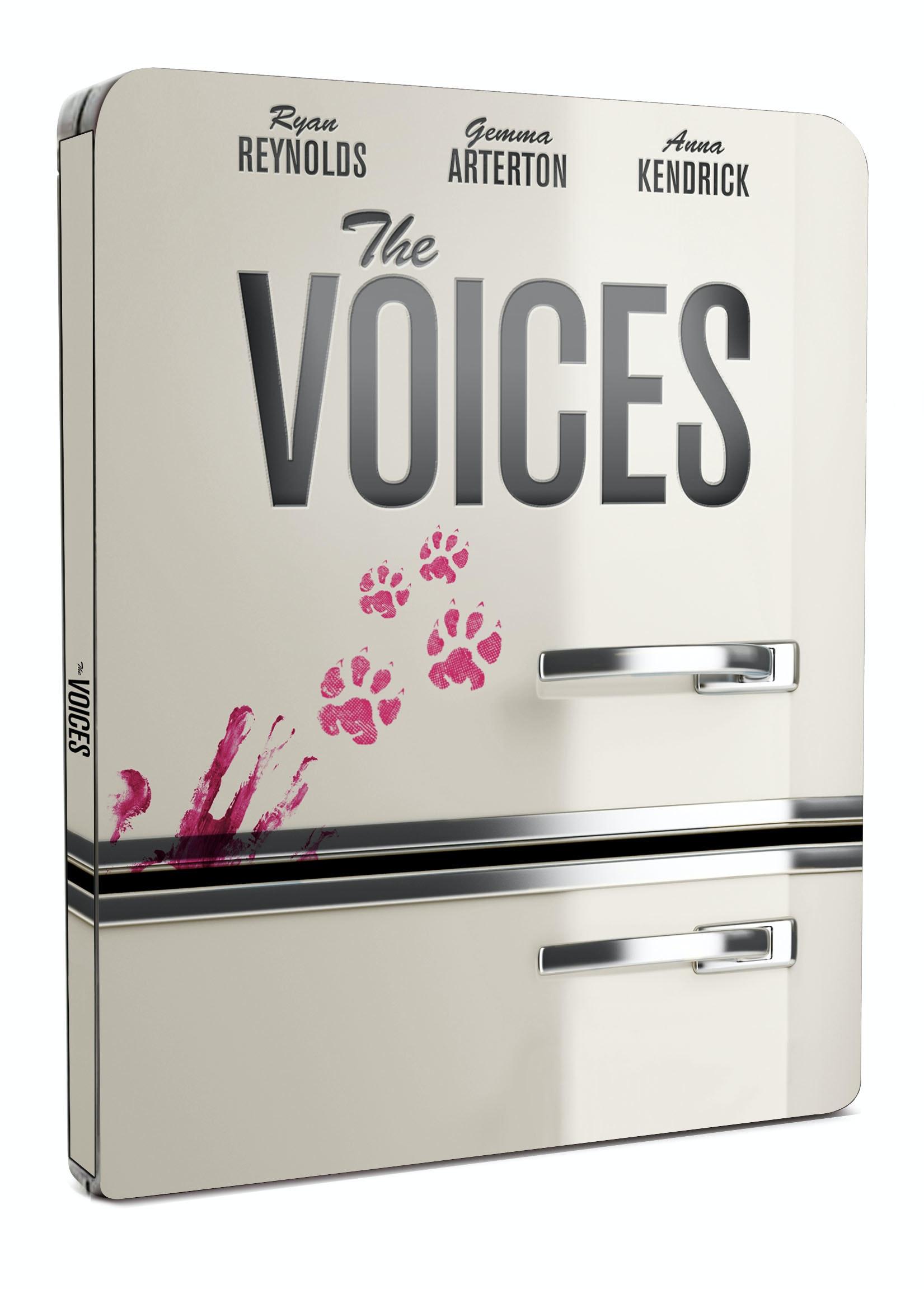 Voices steelbook front 3d