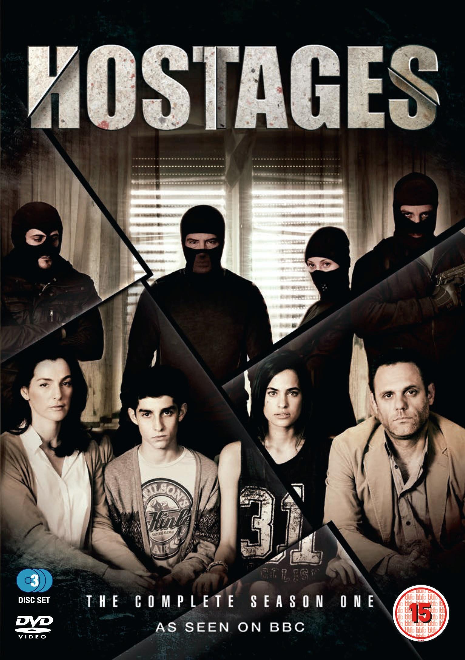 Hostages 2d dvd