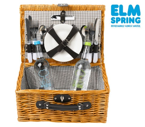Elm Spring water and a Picnic hamper sweepstakes