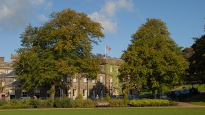 Old hall from pavilion gardens