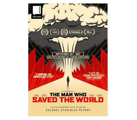 a copy of THE MAN WHO SAVED THE WORLD on DVD  sweepstakes