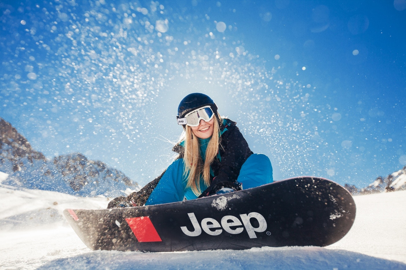 Jeep snowboarder 251705977