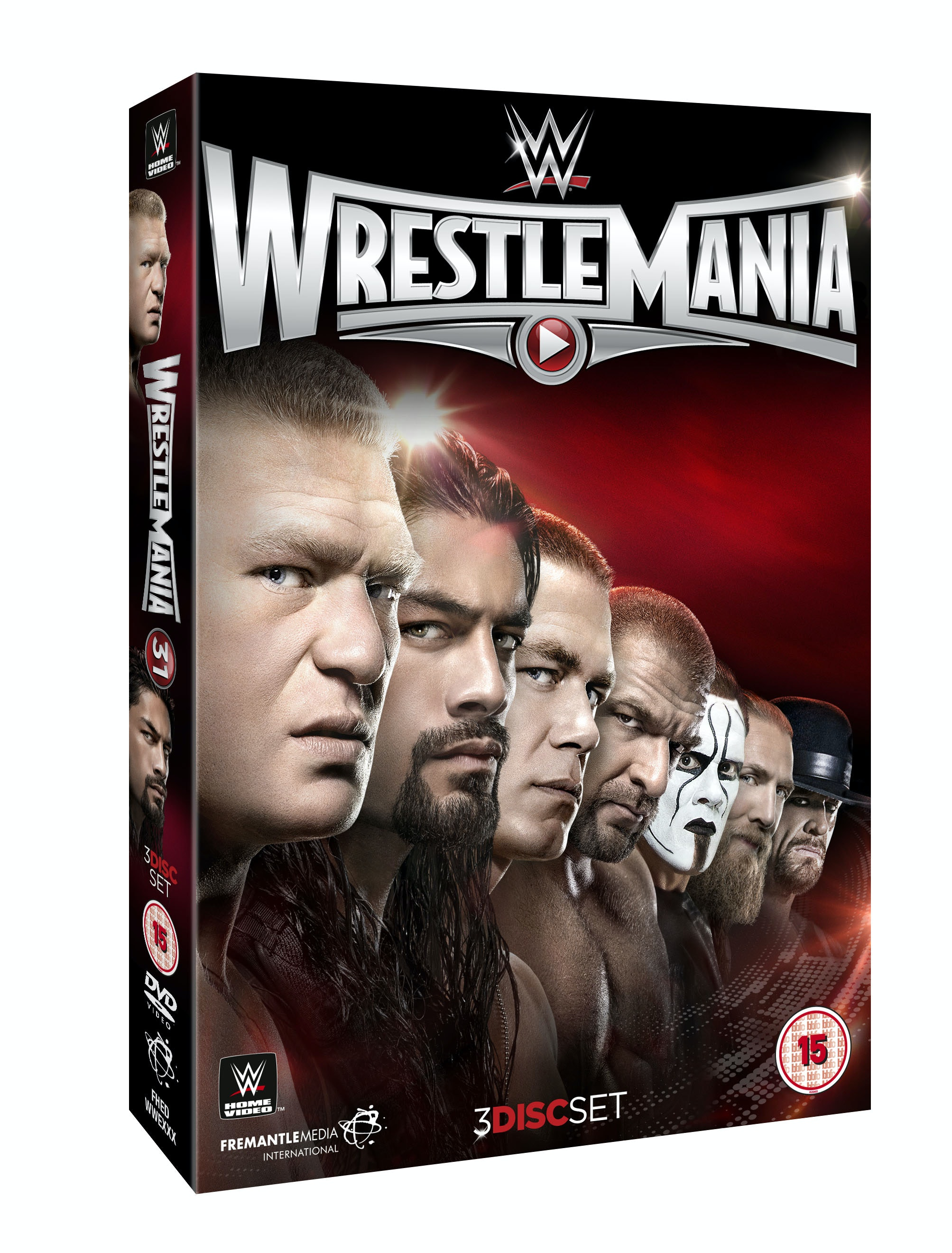 Wrestlemania31 dvd 3d