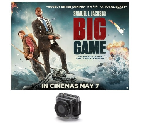 SPLASH CAMERA WITH BIG GAME  sweepstakes