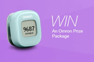 Omron giveaway may sm